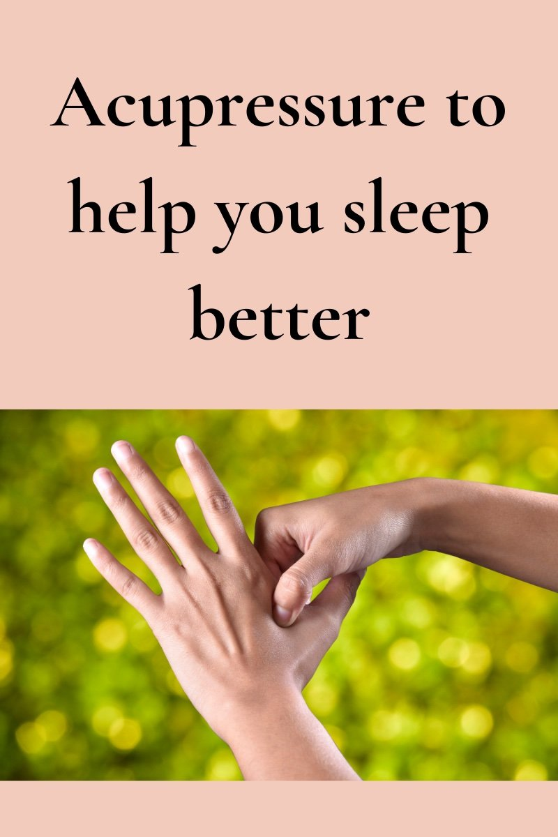 Acupressure to help you sleep better